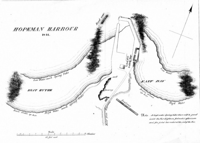 1844 - Hopeman Harbour