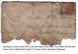 1865 - PO Letter Address