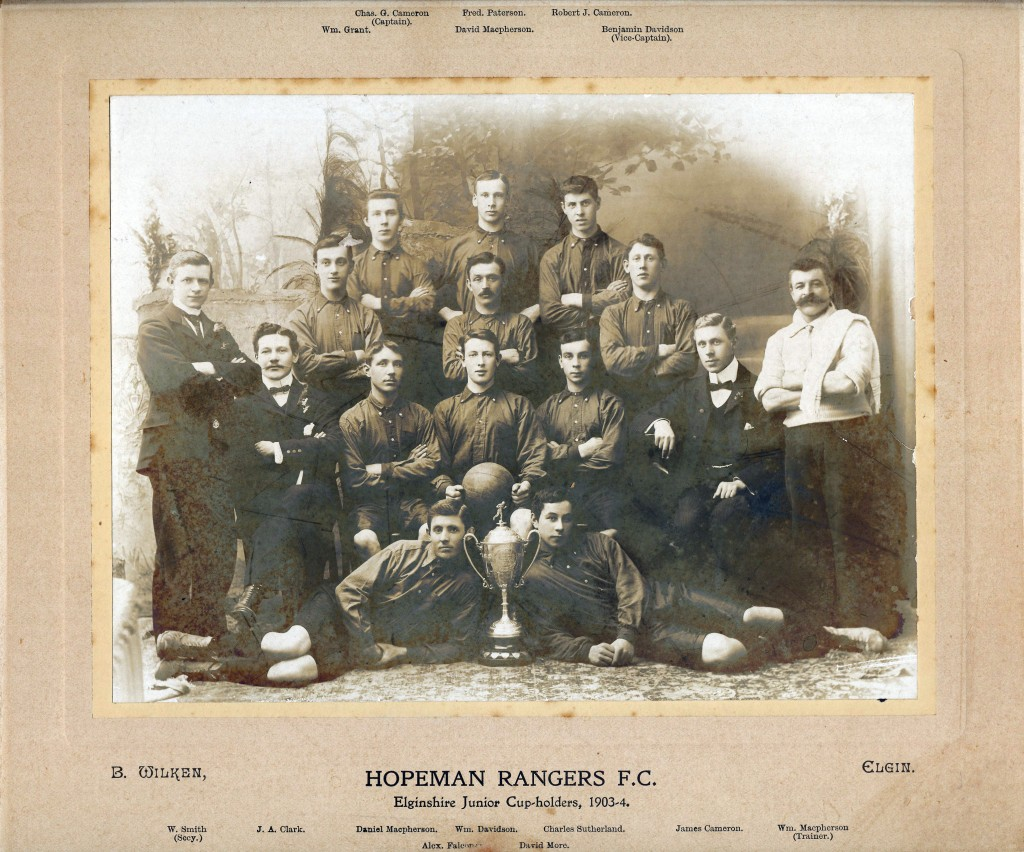 1903 - Hopeman Rangers
