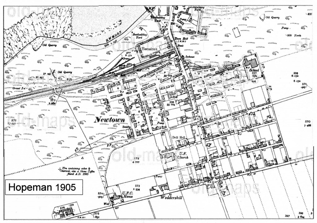 1905 - Plan of Hopeman