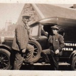1925 - Jock McPherson and his fish van