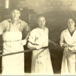 1936- George Watt McKenzie, Danny Main, Ann Young at Stuarts the Bakers