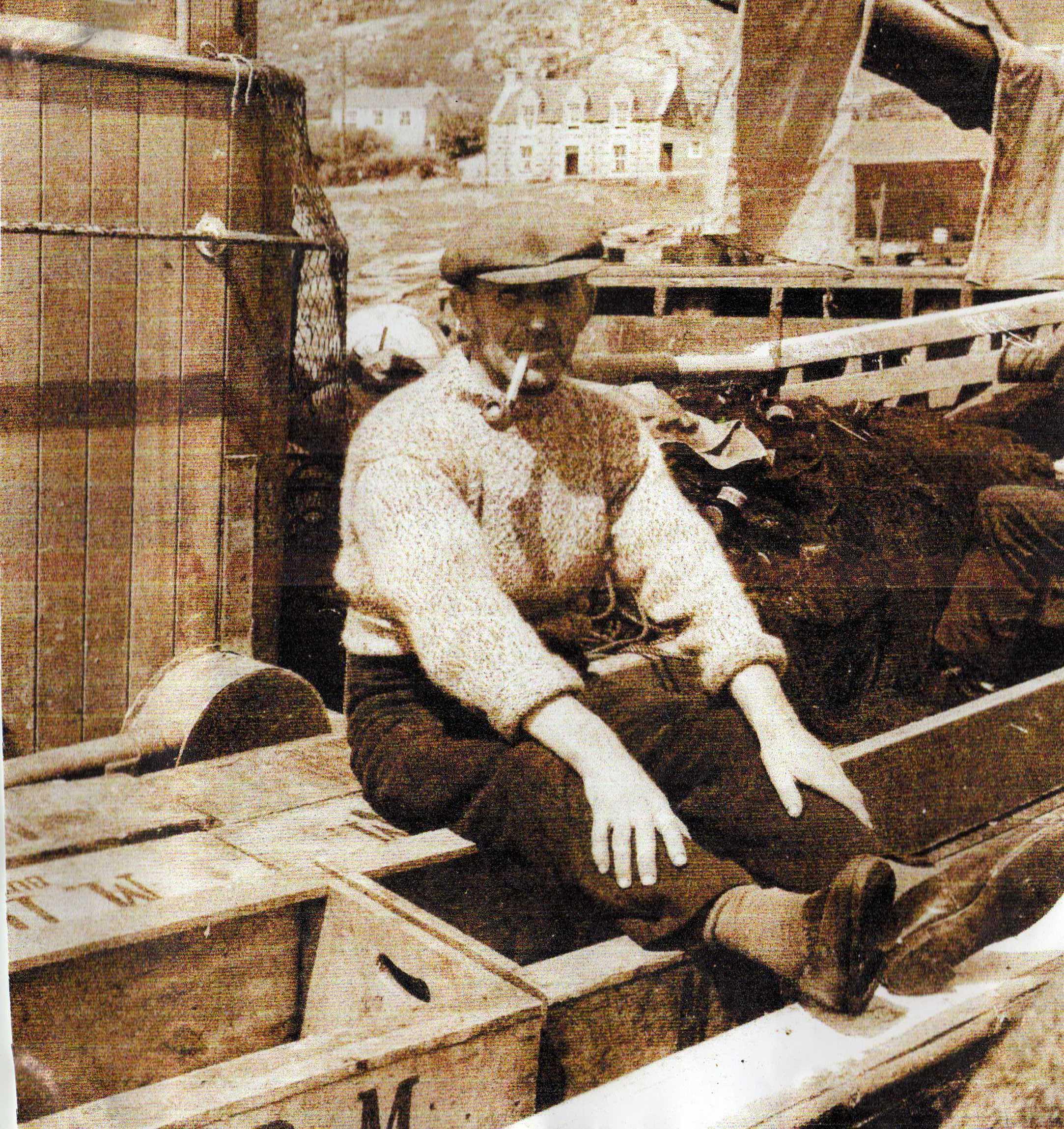 1940s - John McPherson (Jock Teen) Skipper Athenia.