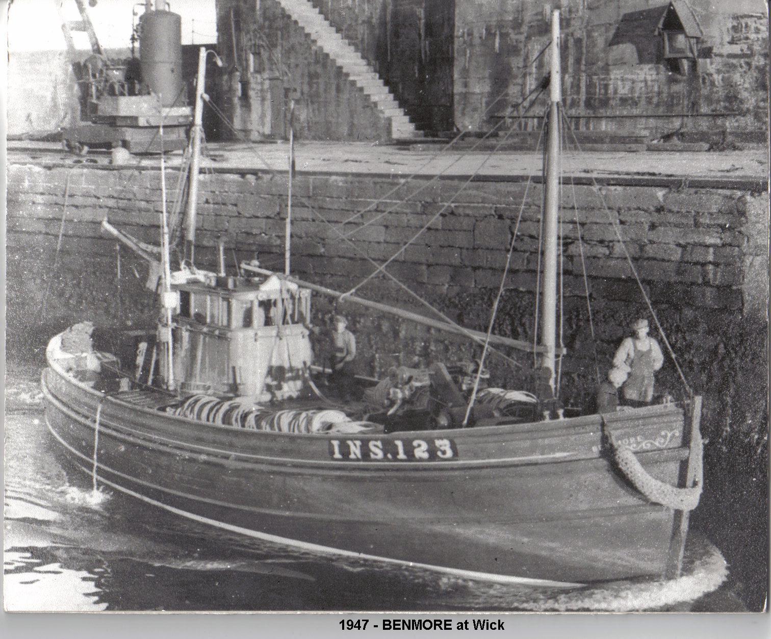 1947 - Benmore INS 123 @ Wick