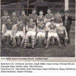 1950 - School Football Team