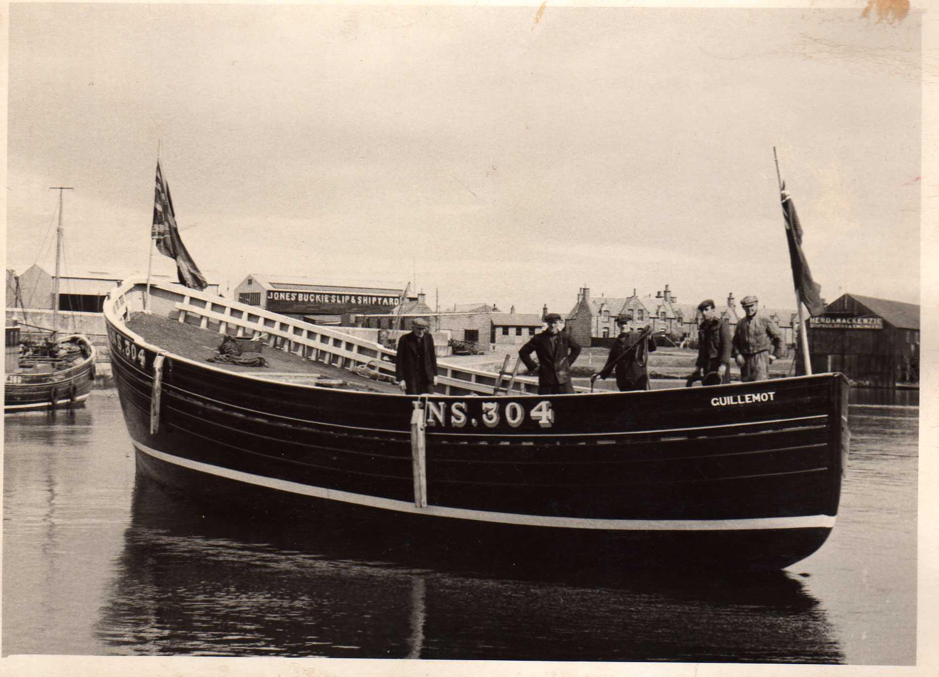 1957 - Guillimot Launch