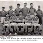 1957 - School Football Team