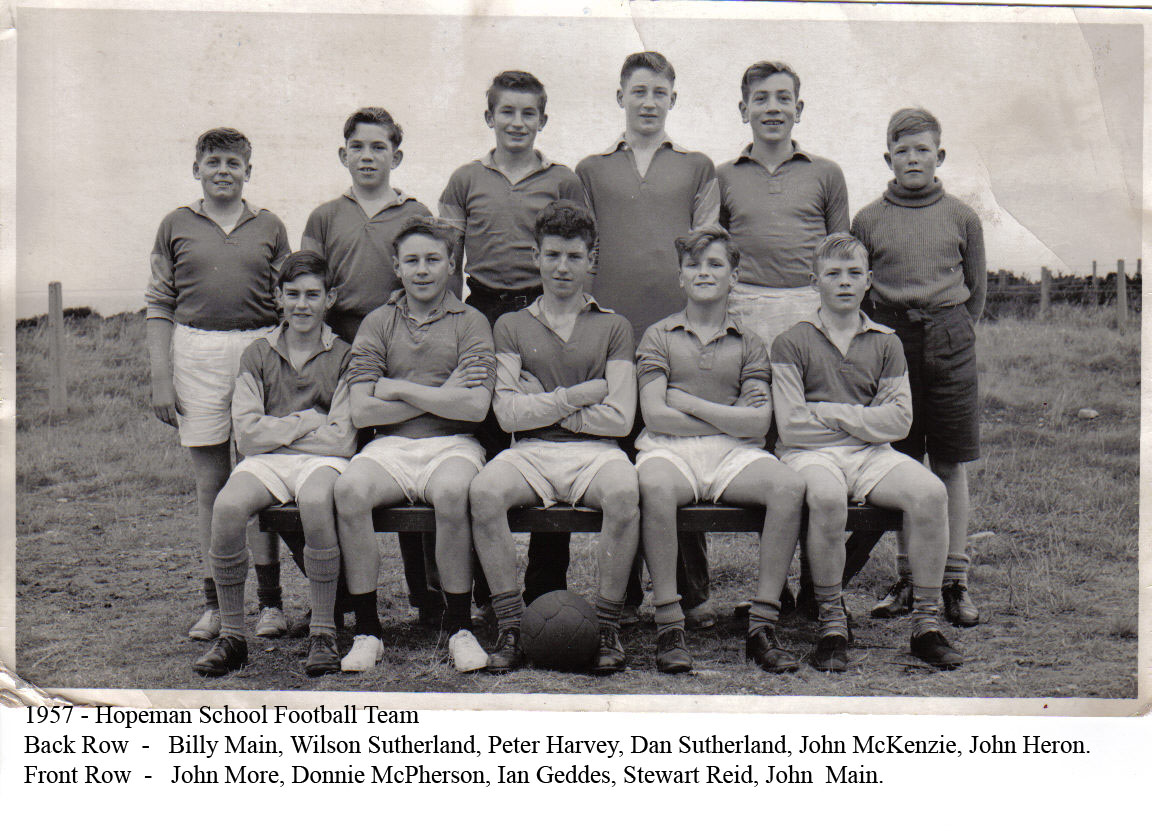 1957 - School Football Team