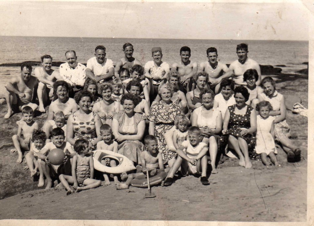 1960 - BROONS on holiday in Hopeman at the Beach
