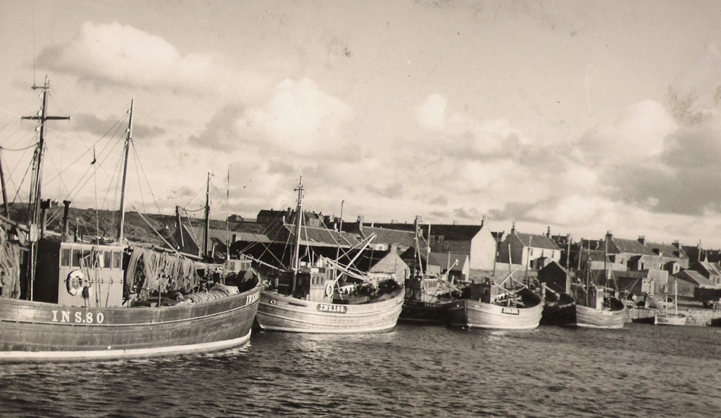 1963 - Hopeman Harbour Boats A