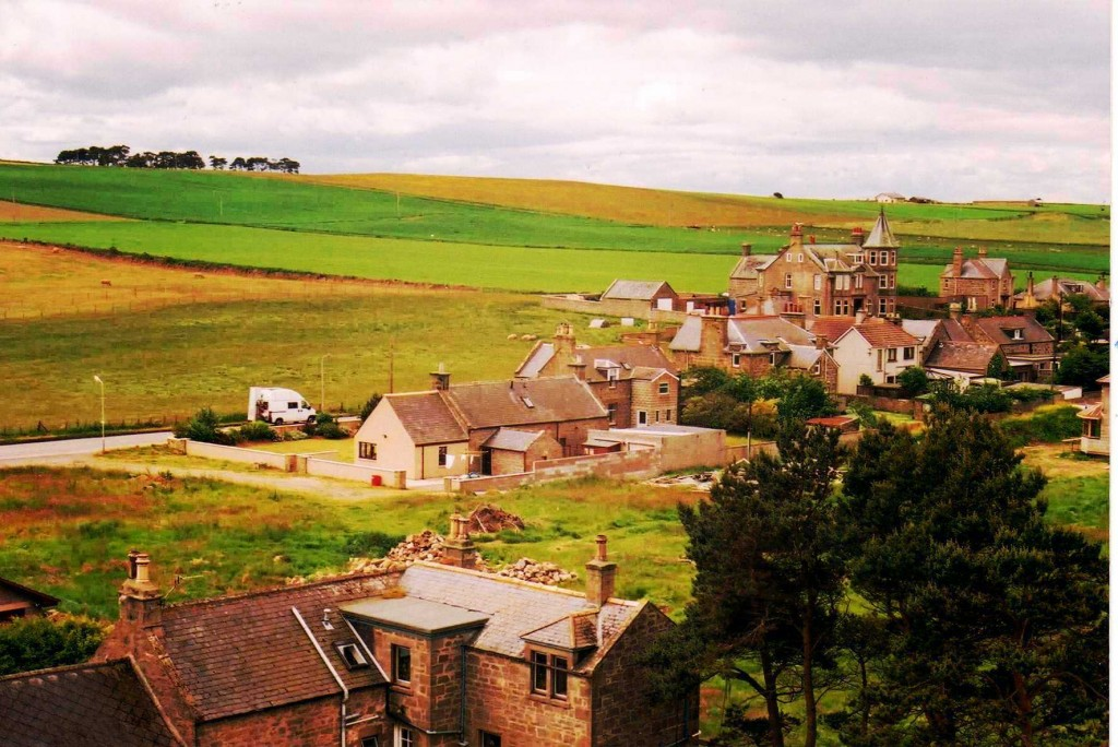 1997- Weddershill farm from church clock tower