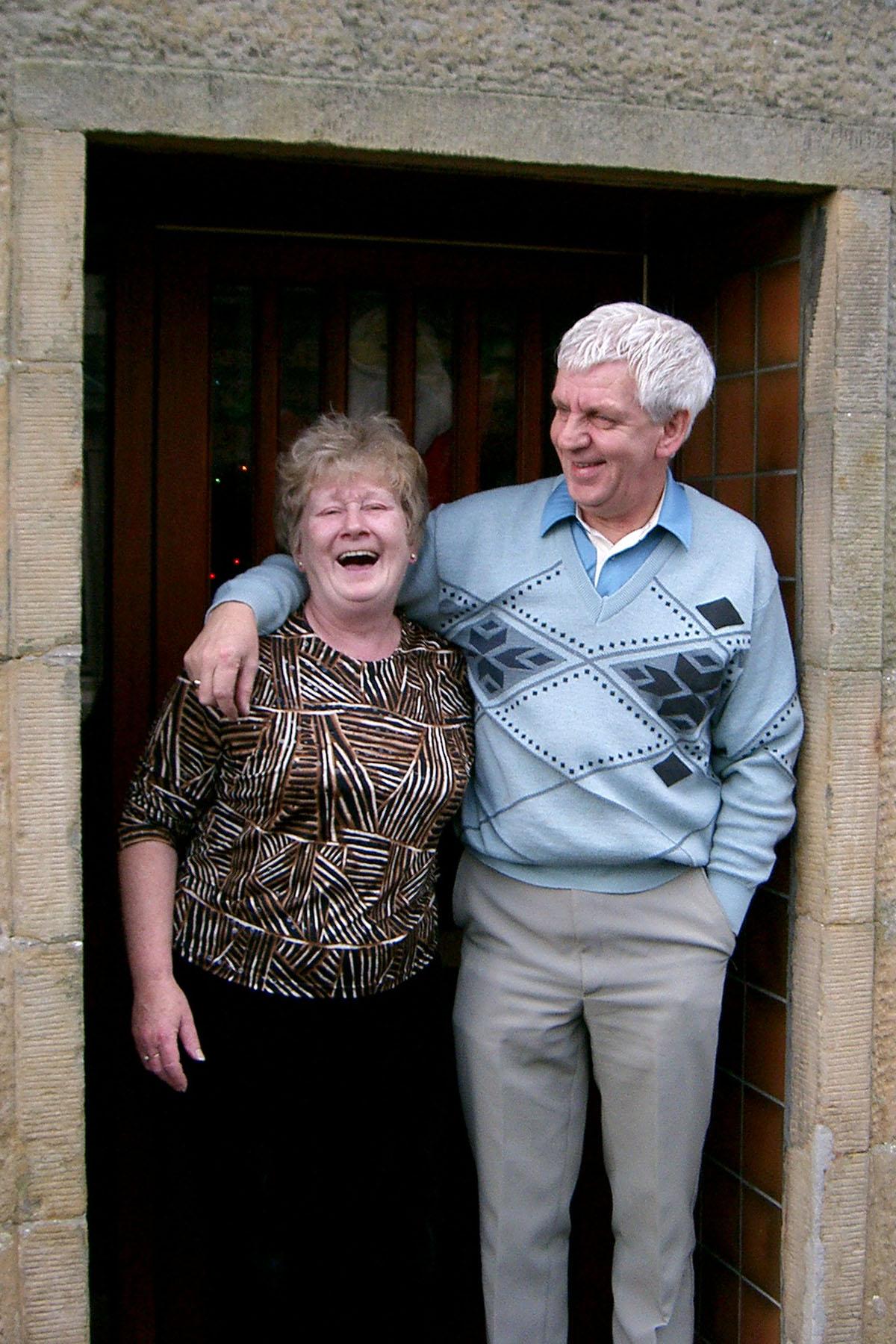 2005 - Ann & Billy More (Bufto) 14 Hutcheon St.