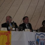 2008 - FC dinner - Craig Brown & Stevie McPherson