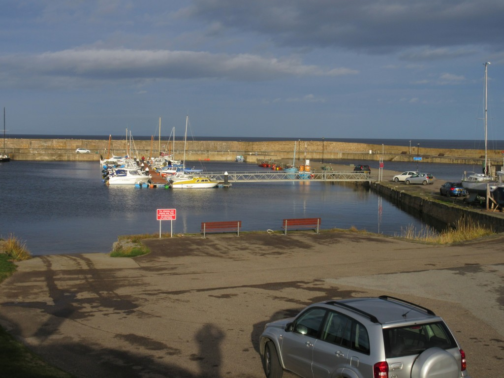 2015 - Hopeman harbour