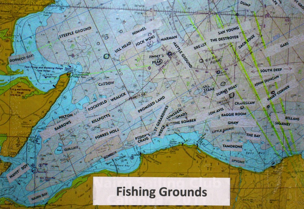 Map - Fishing grounds