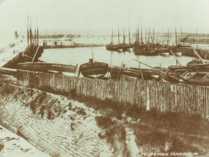 1900 - Hopeman West harbour