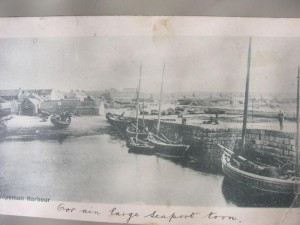1900- Hopeman east harbour