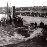 1928 - EMBRACE Leaving Gt Yarmouth