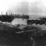 1930 - Drifters & Haddock boats in Harbour
