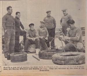 1950's - Fishermen at Hopeman