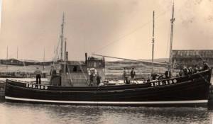 1956 - June Rose INS 190 on delivery Hopeman