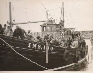 1956 - June Rose - trial trip