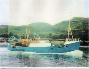 1990 - Harmony, Skipper Sandy (Daich) McPherson.