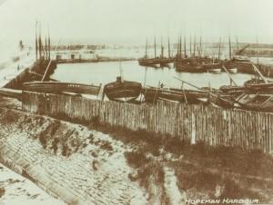 1900 - Hopeman West harbour