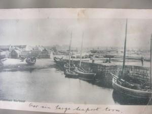 1900- Hopeman east harbour